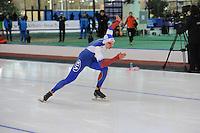 SPEED SKATING: STAVANGER: Sørmarka Arena, 31-01-2016, ISU World Cup, 500m Men Division A, Pavel Kulizhnikov (RUS), ©photo Martin de Jong