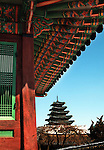 Built in 1395, in Seoul,South Korea Gyeongbokgung Palace is also called the Northern Palace.