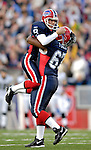 26 November 2006: Buffalo Bills punter Brian Moorman (8) celebrates the game winning field goal with center Melvin Fowler (67) in a game against the Jacksonville Jaguars at Ralph Wilson Stadium in Orchard Park, NY. The Bills defeated the Jaguars 27-24. Mandatory Photo Credit: Ed Wolfstein Photo<br />