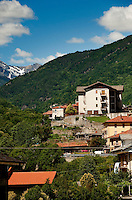 Impression of the commune Perosa Argentina in the Piedmont region (Italy, 21/06/2010)