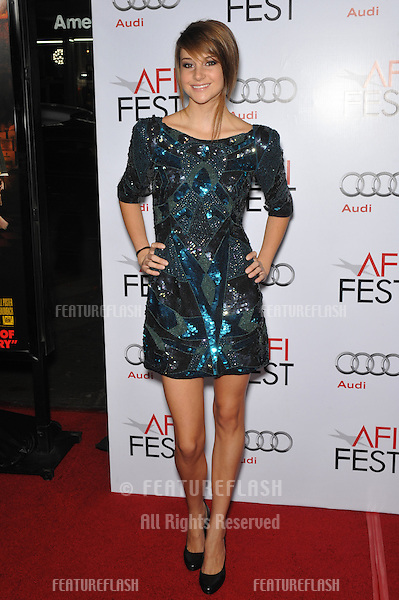 "Shailene Woodley, star of ""The Secret Life of the American Teenager"", at the Los Angeles premiere of ""Fantastic Mr. Fox"" - the gala opening night of the AFI Fest 2009 -  at Grauman's Chinese Theatre, Hollywood..October 30, 2009  Los Angeles, CA.Picture: Paul Smith / Featureflash"