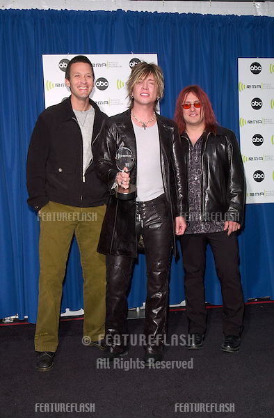 Pop group GOO GOO DOLLS at the Radio Music Awards at the Aladdin Hotel & Casino, Las Vegas. They won for Pop Alternative Radio Artists of the Year..04NOV2000.  © Paul Smith / Featureflash