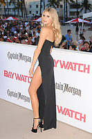 MIAMI BEACH, FL - MAY 13: Charlotte McKinney attends the Baywatch Movie Premiere at Lummus Park on May 13, 2017 in Miami Beach, Florida. Credit: mpi04/MediaPunch