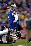 3 December 2006: Buffalo Bills quarterback J.P. Losman (7) in action against the San Diego Chargers at Ralph Wilson Stadium in Orchard Park, New York. The Charges defeated the Bills 24-21. Mandatory Photo Credit: Ed Wolfstein Photo<br />