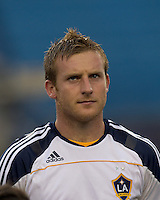 Los Angeles Galaxy midfielder Chris Birchall (11). The New England Revolution defeated LA Galaxy, 2-0, at Gillette Stadium on July 10, 2010.