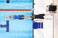 Picture by Alex Whitehead/SWpix.com - 28/03/2015 - Swimming - British Para-Swimming International Meet 2015 - Tollcross International Swimming Centre, Glasgow, Scotland - Norway's Sara Josefine Hanssen (S6) prepares to compete in the Women's Multi-Classified 100m Backstroke heats.