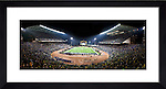 """University of Washington - Husky Stadium. Last game before major renovation. Photo by Rob Sumner / Red Box Pictures. Available in frame sized of 24x36"""" or 12x24"""" Photo by Rob Sumner / Red Box Pictures. TO SEE FRAME AND PICTURE SIZE OPTIONS CLICK BUY BUTTON."""