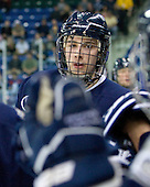 Dalton Speelman (UNH - 10) - The visiting University of New Hampshire Wildcats defeated the University of Massachusetts-Lowell River Hawks 3-0 on Thursday, December 2, 2010, at Tsongas Arena in Lowell, Massachusetts.