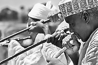The Kakaki is a long metal musical instrument and  can measure up to five meters long. It is used across Hausaland as a traditional ceremonial musical instrument announcing the coming of the Kings and royals.