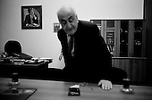 Baku, Azerbaijan <br /> December 13, 2006<br /> <br /> Khoshbakht Yusifzadeh, the vice-president of SOCAR, the State Oil Company of Azerbaijan in his office.