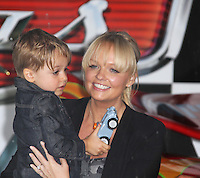 Emma Bunton Cars 2 UK Premiere, Whitehall Gardens, London, UK, 17 July 2011:  Contact: Rich@Piqtured.com +44(0)7941 079620 (Picture by Richard Goldschmidt)