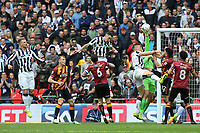 Bradford City goalkeeper, Colin Doyle, makes a save to thwart a Millwall attack during Bradford City vs Millwall, Sky Bet EFL League 1 Play-Off Final at Wembley Stadium on 20th May 2017