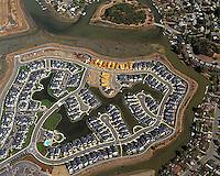 aerial photograph Belle Marin Keys Marin County, California