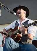 Jonny Gray performs at the Kingman Bluegrass Festival in Washington, DC.
