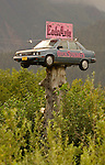 Alaska billboard at Seward, Alaska.  Bob Gathany photographer
