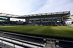 11 December 2015: A wide shot of the field from the northeast corner. The Clemson University Tigers played the Syracuse University Orange at Sporting Park in Kansas City, Kansas in a 2015 NCAA Division I Men's College Cup Semifinal match. The game ended in a 0-0 tie after overtime; Clemson advanced to the Final by winning the penalty kick shootout 4-1.