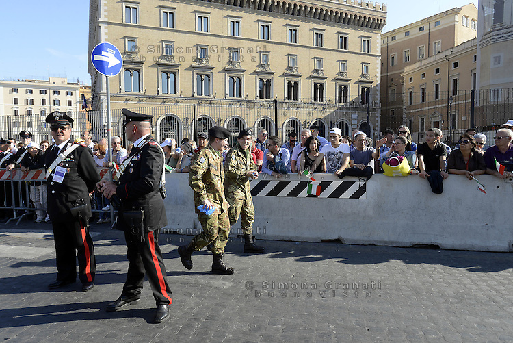 Roma, 2 Giugno 2015<br /> Festa della Repubblica, 69&deg; anniversario.<br /> In attesa della parata militare