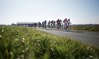 leaders group about 45km's from the finish<br /> <br /> 3 Days of West-Flanders 2015<br /> stage 2: Nieuwpoort - Ichtegem 184km