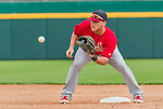 7 March 2015: St. Louis Cardinals infielder Jacob Wilson in Spring Training action against the Washington Nationals at Space Coast Stadium in Viera, Florida. The Cardinals fell to the Nationals 6-5 in Grapefruit League play. Mandatory Credit: Ed Wolfstein Photo *** RAW (NEF) Image File Available ***