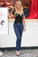 Irina poses during the &quot;Incredible by Victoria's Secret&quot; launch at the Victoria Secret SOHO Store, August 10, 2010.