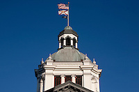 TALLAHASSEE, FLA. 3/1/10-FLORIDA OLD CAPITOL CH10-The cupola of the Old Capitol building in Tallahassee, Fla...COLIN HACKLEY PHOTO