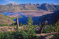 Spirit Lake, Mt. St. Helens National Volcanic Monument, Washington, US