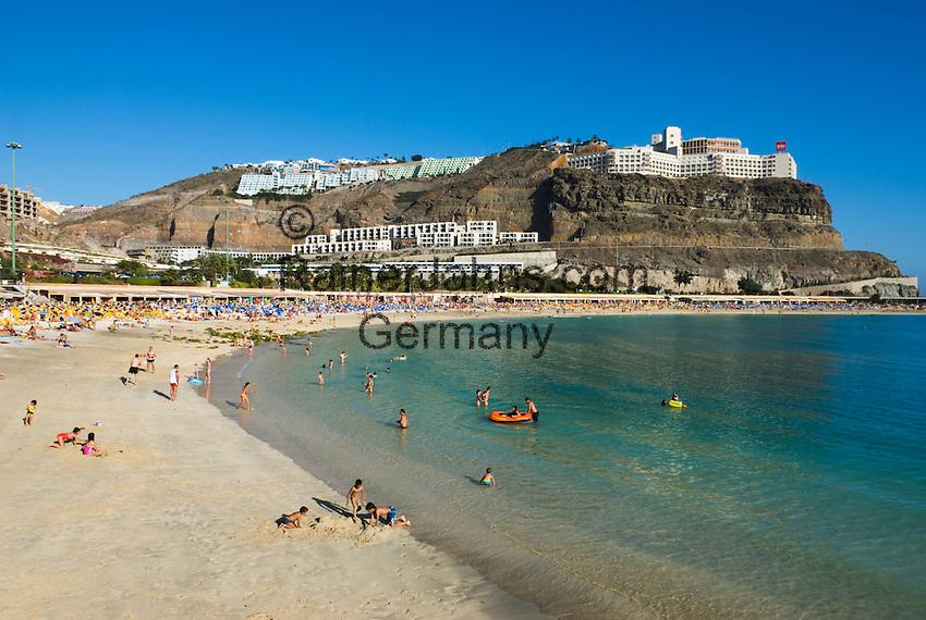 spanien gran canaria puerto rico playa de amadores rainer jahns travel photography library. Black Bedroom Furniture Sets. Home Design Ideas