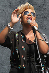 Chelmsford, Essex - Emeli Sande performs at V Festival 2012, Hylands Park, Chelmsford, Essex - August 18th 2012..Photo by Keith Mayhew.
