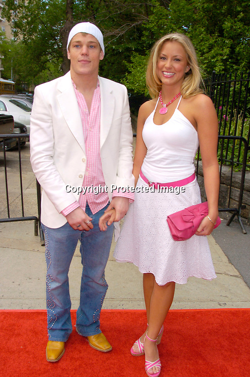 Marty West and Andria Mullins ..at the Pre Daytime Emmy party at Gracie Mansion on..May 20, 2004