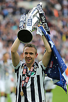 Millwall's Shaun Ferguson celebrates winning the Division One Play-Off Final during Bradford City vs Millwall, Sky Bet EFL League 1 Play-Off Final at Wembley Stadium on 20th May 2017