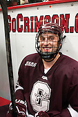 Kyle Baun (Colgate - 12) - The Harvard University Crimson defeated the Colgate University Raiders 4-1 (EN) on Friday, February 15, 2013, at the Bright Hockey Center in Cambridge, Massachusetts.