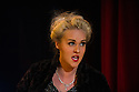 London, UK. 09.10.2014. Mountview Academy of Theatre Arts presents CURTAINS, at the Bernie Grant Arts Centre. Picture shows: Chloe Carroll (Carmen Bernstein). Photograph © Jane Hobson.