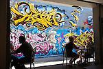 Caffiend alleyway cafe.  Cairns, Queensland, Australia