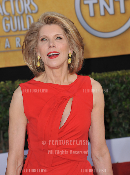 Christine Baranski at the 17th Annual Screen Actors Guild Awards at the Shrine Auditorium..January 30, 2011  Los Angeles, CA.Picture: Paul Smith / Featureflash.January 30, 2011  Los Angeles, CA.Picture: Paul Smith / Featureflash