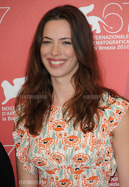Rebecca Hall at the The Town photocall during the 67th annual Venice Film Festival..September 8, 2010  Venice, IT.Picture: Anne-Marie Michel / Featureflash