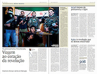 Tearsheet of &quot;Syria: viagem ao coracao da revolucao&quot; published in Expresso