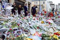 John Kerry visits Paris after terrorist attacks - France