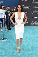 """HOLLYWOOD, CA - May 18: Becky G, At Premiere Of Disney's """"Pirates Of The Caribbean: Dead Men Tell No Tales"""" At Dolby Theatre In California on May 18, 2017. Credit: FS/MediaPunch"""