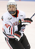 Luke Eibler (Northeastern - 20) - The Northeastern University Huskies defeated the visiting Providence College Friars 5-0 on Saturday, November 20, 2010, at Matthews Arena in Boston, Massachusetts.