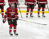 Mike Marnell (SLU - 26) - The Harvard University Crimson defeated the St. Lawrence University Saints 6-3 (EN) to clinch the ECAC playoffs first seed and a share in the regular season championship on senior night, Saturday, February 25, 2017, at Bright-Landry Hockey Center in Boston, Massachusetts.