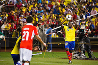 Walter Ayovi (10) of Ecuador on a throw in. Ecuador defeated Chile 3-0 during an international friendly at Citi Field in Flushing, NY, on August 15, 2012.