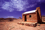 An old abandoned house at central Australia's first major settlement in Arltunga, near Alice Springs in the Eastern Macdonnell Ranges.