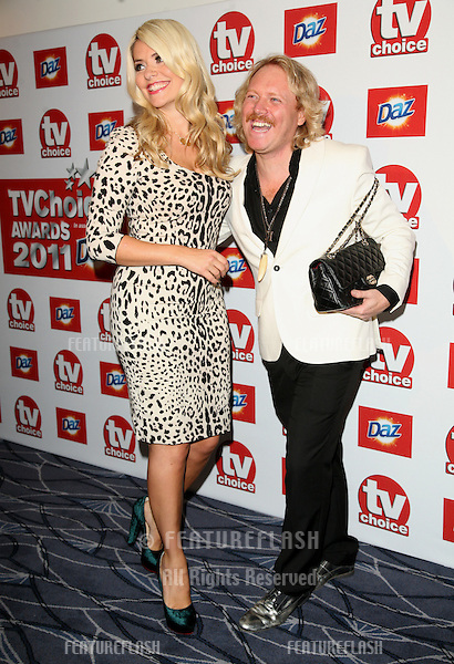 Holly Willoughby and Keith Lemon arriving for the 2011 TVChoice Awards, at The Savoy, London. 13/09/2011 Picture by: Alexandra Glen / Featureflash