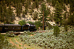 AZ, Grand Canyon National Park, Arizona, Grand Canyon Railway, train.Photo Copyright: Lee Foster, lee@fostertravel.com, www.fostertravel.com, (510) 549-2202.azgran229
