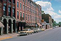 "Galena: S. Main St., East  ""Wall"".  Photo '77."