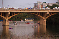 Batfest, Austin's annual celebration of our furry flyers, returns this year for an all-day and night party. Enjoy the scenic backdrop of Lady Bird Lake and downtown Austin as up to two million Mexican Free Tail Bats emerge for their nightly flight, launching from underneath the Congress Avenue Bridge. The creatures are unpredictable, but usually start flying between 7:30 and 9:30pm.Batfest will also feature arts, crafts, live music, food vendors, children's activities, educational displays and, of course, the famous bat watching at sundown.