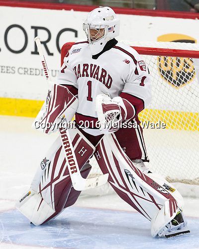 Sihak Lee (Harvard - 1) - The Harvard University Crimson defeated the visiting Cornell University Big Red on Saturday, November 5, 2016, at the Bright-Landry Hockey Center in Boston, Massachusetts.