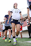 10 November 2013: Erika Tymrak (USA). The United States Women's National Team played the Brazil Women's National Team at the Citrus Bowl in Orlando, Florida in an international friendly soccer match.