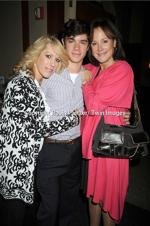 Kathy, Eddie Alderson and Hillary B Smith  attend the Center for Hearing and Communication 18th Annual Feast on October 24, 2011 at Pier Sixty in Chelsea Piers in New York City.