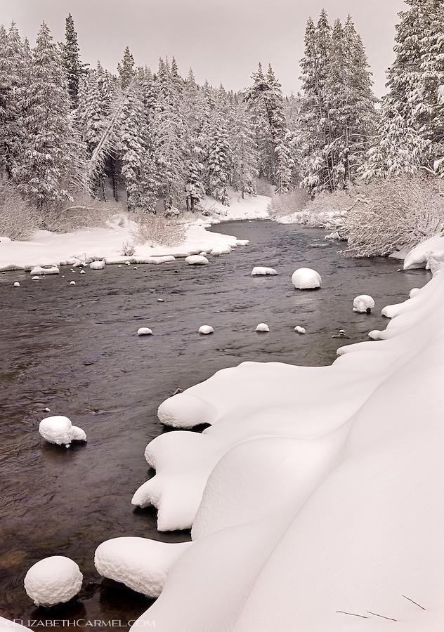 Winter Morning, Truckee River